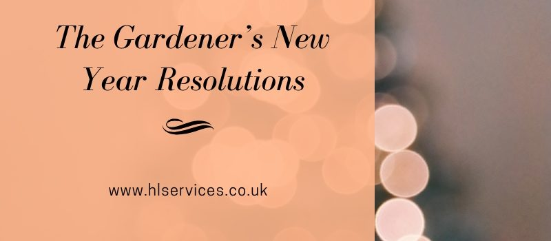 The Gardener's New Year Resolutions